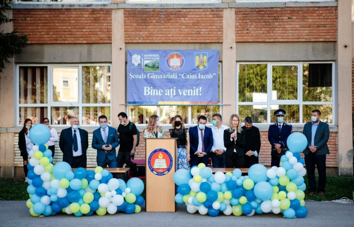 Festivitatea de deschidere a anului școlar 2021-2022